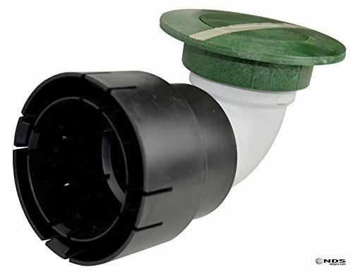 NDS 4307,6cm & 10,2cm Emitter mit Ellenbogen UV-Adapter, Grün Pop - 4-zoll-abflussrohr