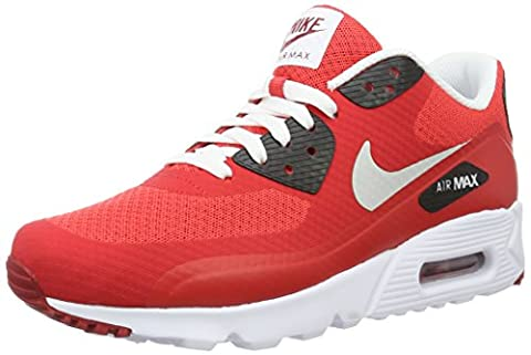 Nike Herren Air Max 90 Ultra Essential Laufschuhe, Rojo (Rojo (action red/pure platinum-gym red-black)), 46 EU