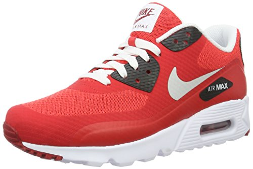 Nike Herren Air Max 90 Ultra Essential Laufschuhe, Rojo (Rojo (action red/pure platinum-gym red-black)), 42.5 EU