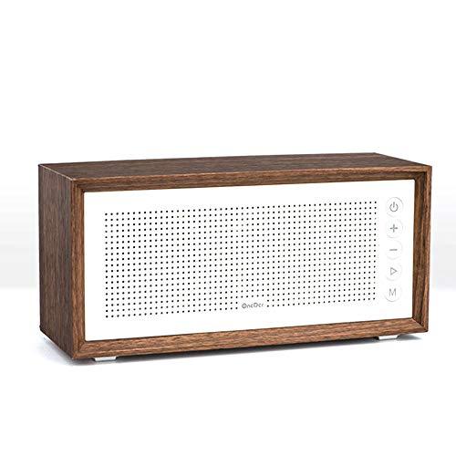 ILYO Tragbarer Bluetooth-Lautsprecher, tragbar, kabellos, für Desktop, Dual-Lautsprecher, Subwoofer - Für Mädchen Cd-player-wecker