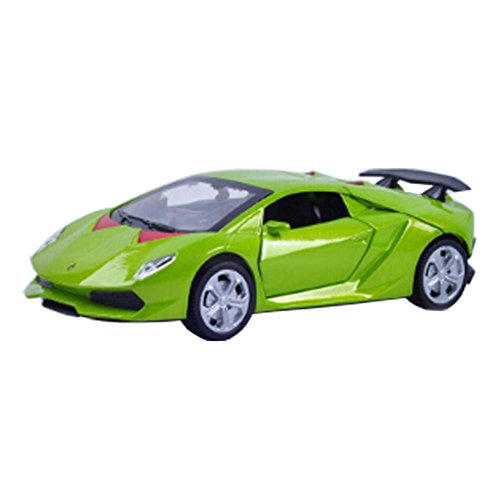 Kids Cool Car Model Display 1:32 alliage voiture modèle, vert