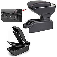 Para Bora Golf 4 Avanzado Auto Apoyabrazos Consola Central Reposabrazos Accesorios Con función de carga 7