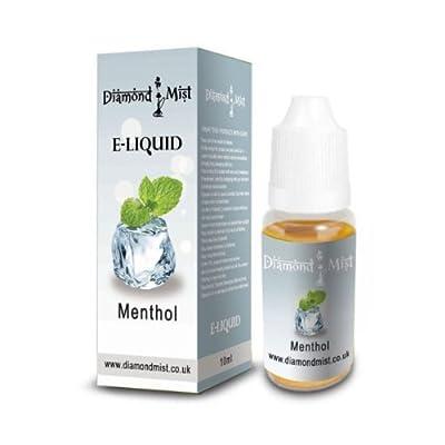 Diamond Mist 10 ml Menthol E-Liquid by Diamond Mist