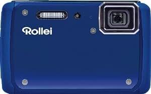 Rollei Sportsline 99 Digitalkamera (14 Megapixel, 4-fach optischer Zoom, 25 mm Weitwinkel, HD Video, 6,85 cm (2,7 Zoll) Display, 5m wasserdicht) blau
