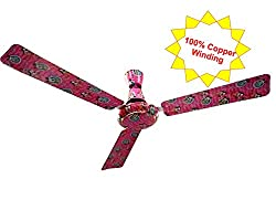 Candes 1200mm High Speed Woogy Micky Mouse 100% Copper Winding 48 inch Ceiling Fan