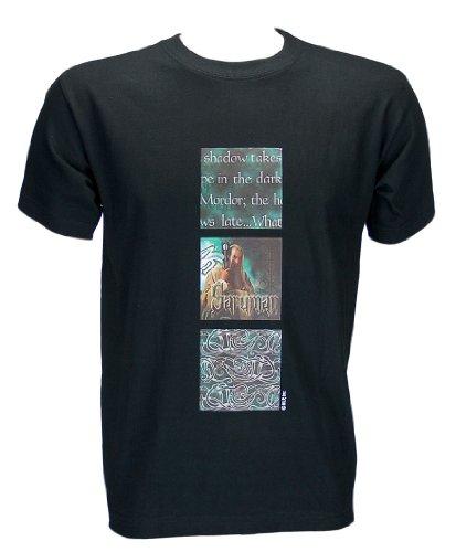 Herr der Ringe Kult- T-Shirt Saruman Größe XL