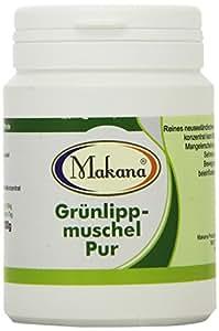 Makana Grünlipp PUR Grünlippmuschelkonzentrat 100%, 1er Pack (1 x 100 g)