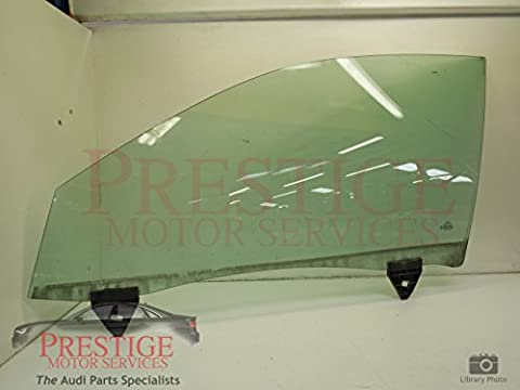 Audi A4 B6 B7 Front NS Left Door Window Glass