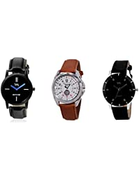 Watch Me Gift Combo Set Of Analog Watches For Men And Boys WMC-002-AWC-002-AWC-009 WMC-002-AWC-002-AWC-009omtbg