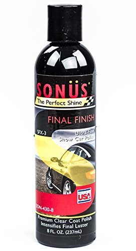 Price comparison product image Sonus SFX-3 Final Finish Polish Ultra-Fine Show Car Polish for Auto, Truck, RV, 8 fl. oz. by Sonus