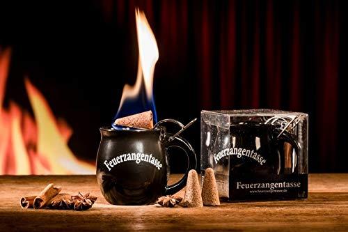 Feuerzangentasse 1er-Set black - smart - ohne Rum (Acrylbox)