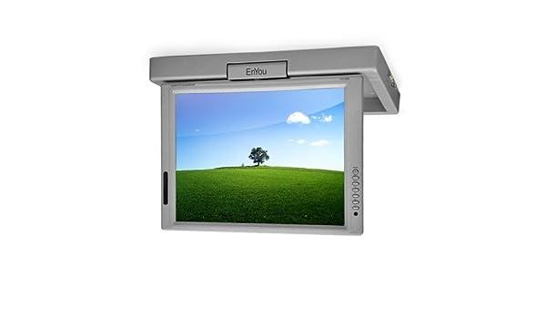 39cm Flipdown-Unterbau-LCD-Fernseher DVB-T Küche 12V: Amazon ...