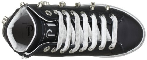 P1 220, Baskets mode femme Noir (Black Studs)