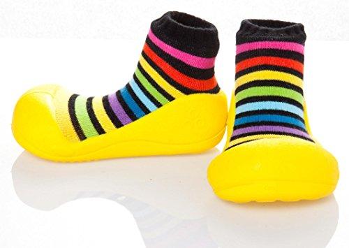 Attipas , {Chaussures premiers pas pour bébé (garçon) Multicolore Multicolore 21.5 Amarillo/Multicolor