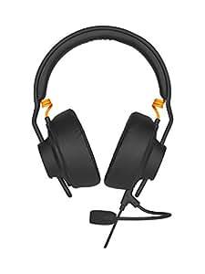Fnatic Gear Duel Gaming Headset Over Ear & on Ear, microphone amovible, AIAIAI TMA-1-2Preset (Noir)