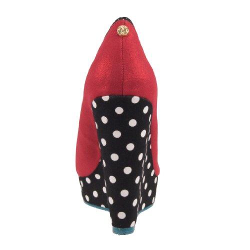 Babycham , Escarpins pour femme Rouge - red-black-white