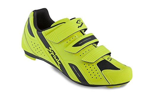Spiuk Rodda Road - Zapatillas unisex, color amarillo / negro, talla 45