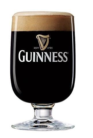 Guinness Half Pint Goblet Glasses (SET OF 2) by Guinness