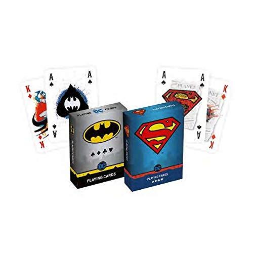 Cartamundi Duopack Playing Cards Kollektion Batman & Superman