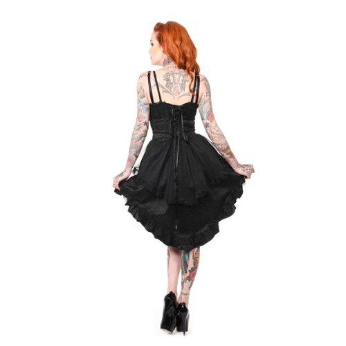 Banned Robe DARK PROM NIGHT DRESS noir Noir