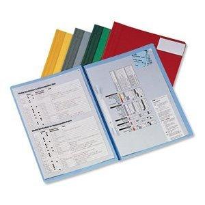 20x HETZEL CONFERENCE Schnellhefter, rot, Überbreit, Kunststoff, DIN A4