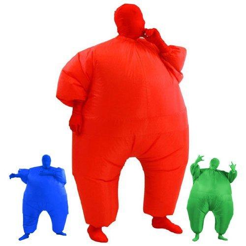 Kostüm Fat Aufblasbar Ballerina - AirSuits Aufblasbares Fett Dick Kleid Fasching Zweite Haut Anzug Karneval Luftschiff Kostüm - ROT ...