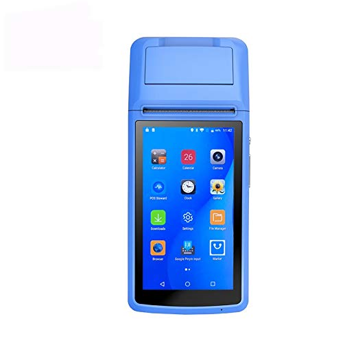 POSPRINT Mobile POS Terminal Android Touch Screen Tablet Restaurant, lottery pda device with Printer