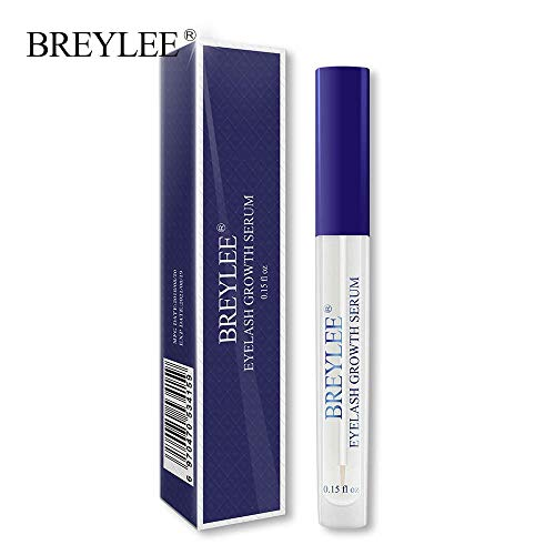 KHKJ BREYLEE Eyelash Growth Serum Eyelash Enhancer Eye Lash Treatment Liquid Longer Fuller Thicker Eyelash Extension Makeup