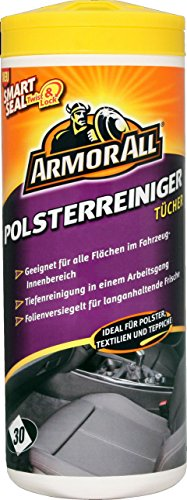 2 x ArmorAll 38025L Polsterreiniger-Tücher 30 Stk. Textilien Polster Teppich KFZ