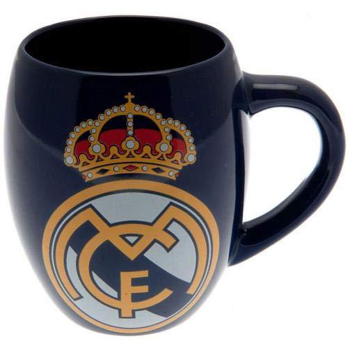 Real Madrid FC Blue White Tea Tub Football Club Fan Gift Boxed Mug Official -