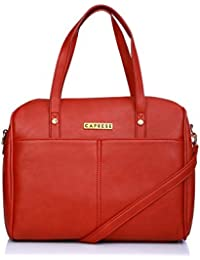 Caprese Charlotte Women's Satchel (Red)