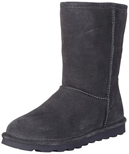 Bearpaw Damen Elle Short Schlupfstiefel, Grau (Charcoal 030), 39 EU - Womens Slim Boot