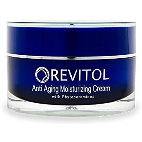 Revitol Anti-Aging Skin Cream Moisturizer with Phytoceramides - Moisturizing Lotion