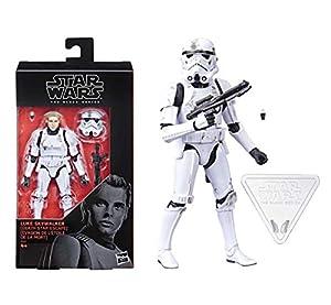 STAR WARS Figura de Luke Skywalker (Death Star Escape) Black Series de 15 cm