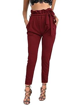 ISASSY - Pantalón - Relaxed - Básico - para Mujer