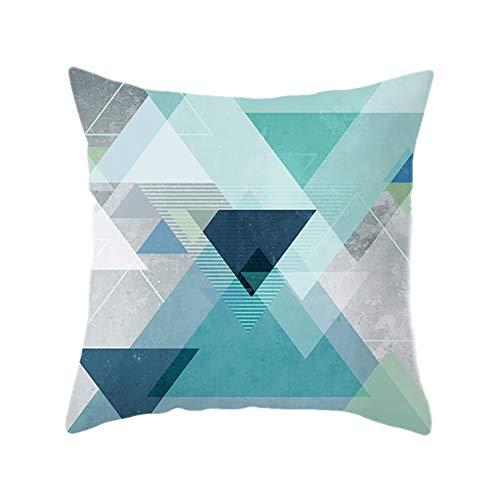 Chytaii. Funda cojin 45 x 45 Sofa Nordicas Decorativo Almohada Sala Pillow...