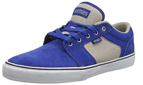 ETNAB|#Etnies Herren Barge LS Skateboardschuhe, ((Navy/Heather 417), 9.5 UK EU Skateboarding Schuhe Sneakers