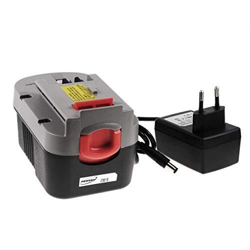 Batería para herramienta Black & Decker Taladro HP146F2K Li-Ion incl. cargador