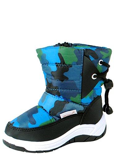 Chuva Luca KINDERLAARS PVC Blauw 27 - Zapatos para Bebés, Color Blau (Blau(Blauw) 04), Talla 27