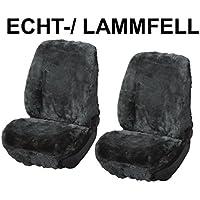 RAU Universal Schonbezug Sitzbezug Echtfell Lammfell anthrazit, Details siehe Artikelbeschreibung