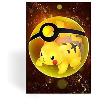 Pokemon Card Greeting Card Note Card Birthday Card Blank Inside