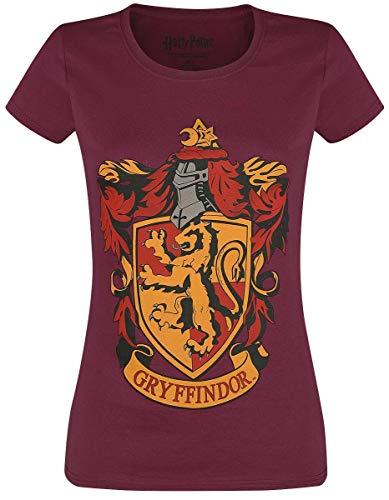 HARRY POTTER Gryffindor T-Shirt Bordeaux S