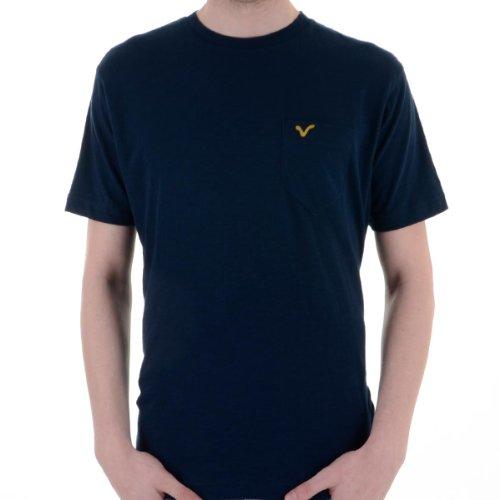 """Männer T-shirt Voi Jeans """"hartford Sub"""" Mit Voi Logo Kurzarm Kommoden Blau"""
