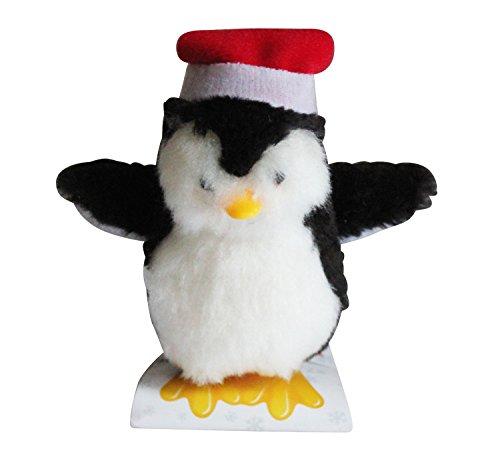 Tobar - Pinguino natalizio, con meccanismo a molla
