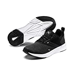 Idea Regalo - Puma Nrgy Comet, Scape per Sport Outdoor Unisex-Adulto, Nero Black White, 42 EU