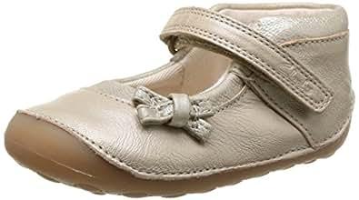 Clarks Girl's Gold First Walking Shoes - 3 kids UK/India (18.5 EU)