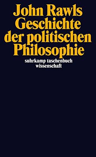 Geschichte der politischen Philosophie (suhrkamp taschenbuch wissenschaft)