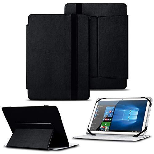 NAUC Tablet Hülle 9,7-10 Zoll Tasche Cover Schutzhülle Case Tablettasche Schwarz, Tablet Modell für:Blaupunkt Enterprise 1020CH