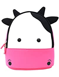 YISIBO 2-6 Years Kids Backpack 3D Cute Cartoon School Toddler Sidesick Bags  Gift for 2-8 Years Old (Cow… 6f89d699da