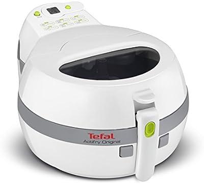 Tefal FZ 7100 Solo 1400W Gris, Color blanco - Freidora (1 kg, 4 personas(s), Solo, Gris, Color blanco, Botones, LCD)